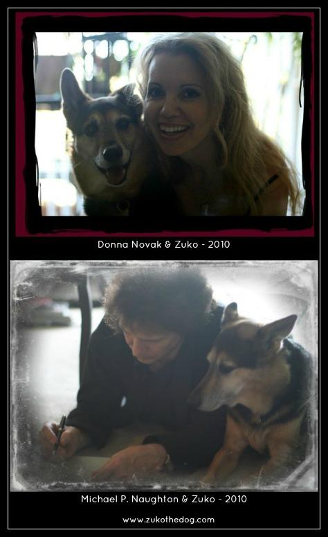 Michael P. Naughton & Zuko the Dog