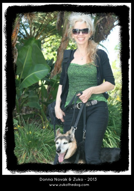 Donna Novak & Zuko the Dog - 2013