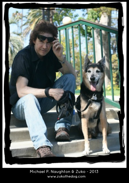 Michael P. Naughton & Zuko the Dog - 2013